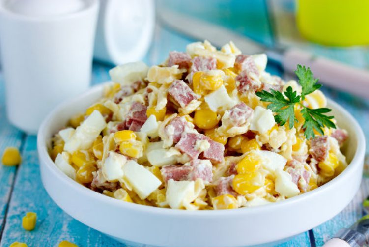 Домашний салат «Ёжик»