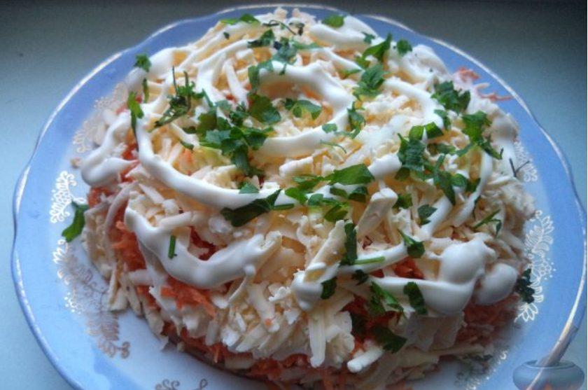 Рецепт салата «Французский»