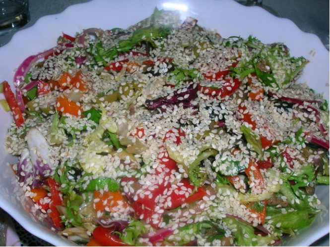 "Рецепт салата ""Армянский"""