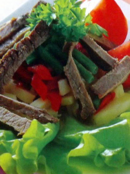 Салат из говяжьего филе