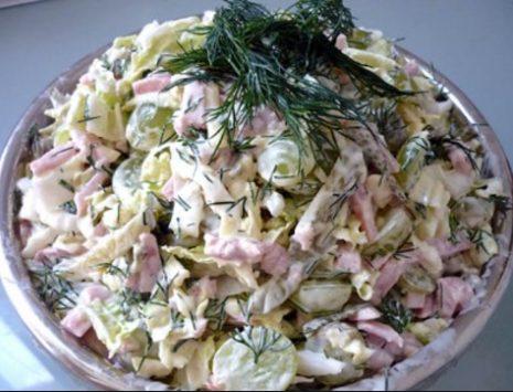 Легкий салат на каждый день